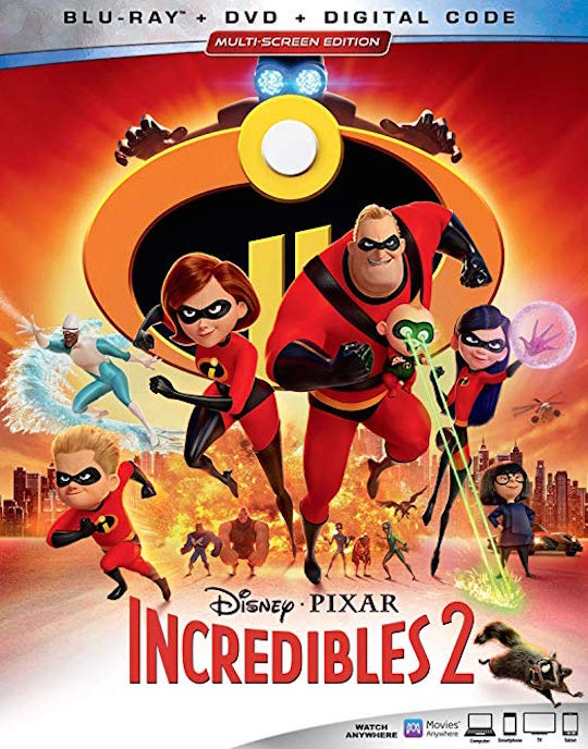 Incredibles 2 BluRay