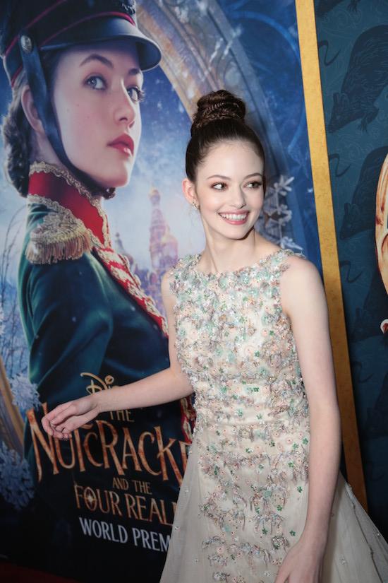 Mackenzie Foy Nutcracker Premiere