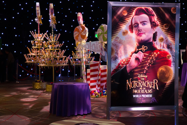Nutcracker Premiere Party Candy Bar