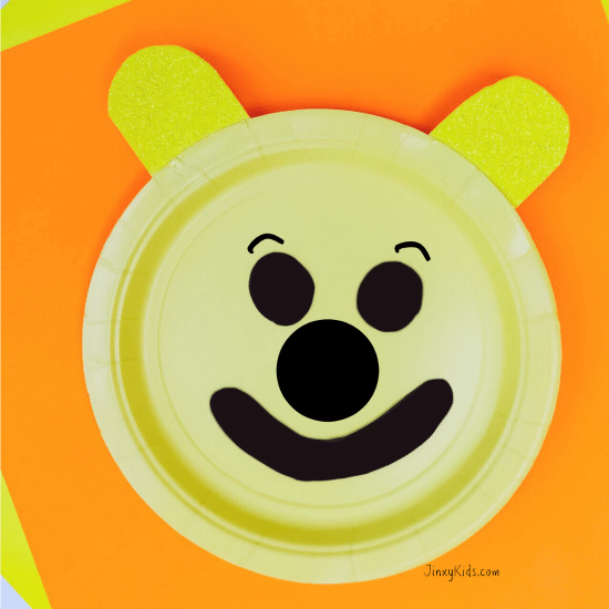 Winnie the Pooh Paper Plate Craft