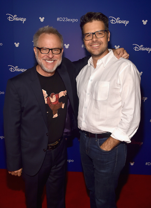 Directors Rich Moore and Phil Johnston of RALPH BREAKS THE INTERNET