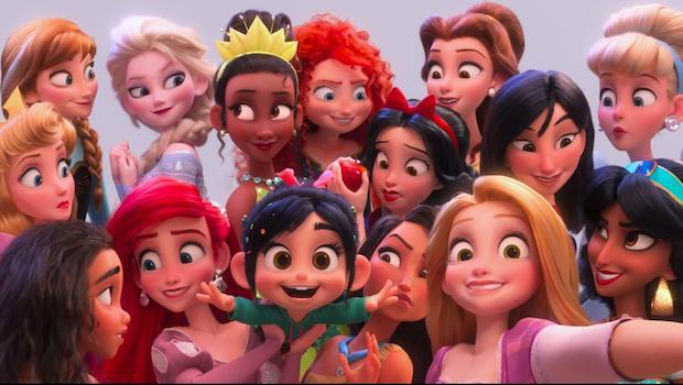 Ralph Breaks The Internet Princesses Selfie