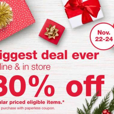 Walgreens Black Friday Sale Coupon