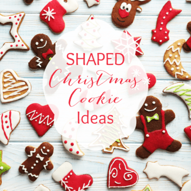 Shaped Christmas Cookies Ideas