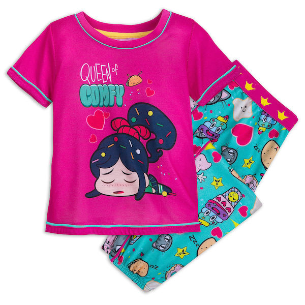 Vanellope von Schweetz Pajama Set for Girls