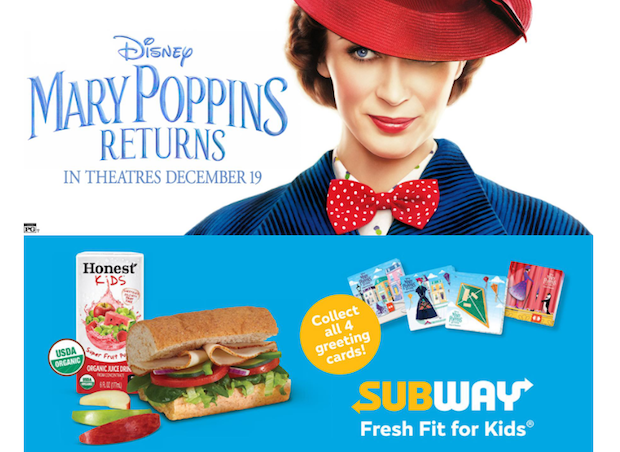 Free Mary Poppins Returns Tickets Subway