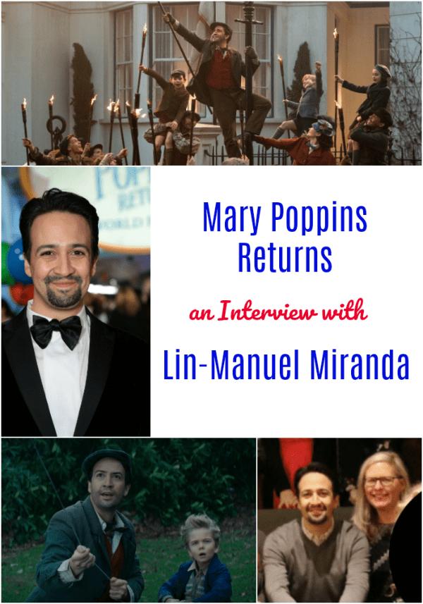 Lin-Manuel Miranda Mary Poppins Returns Interview