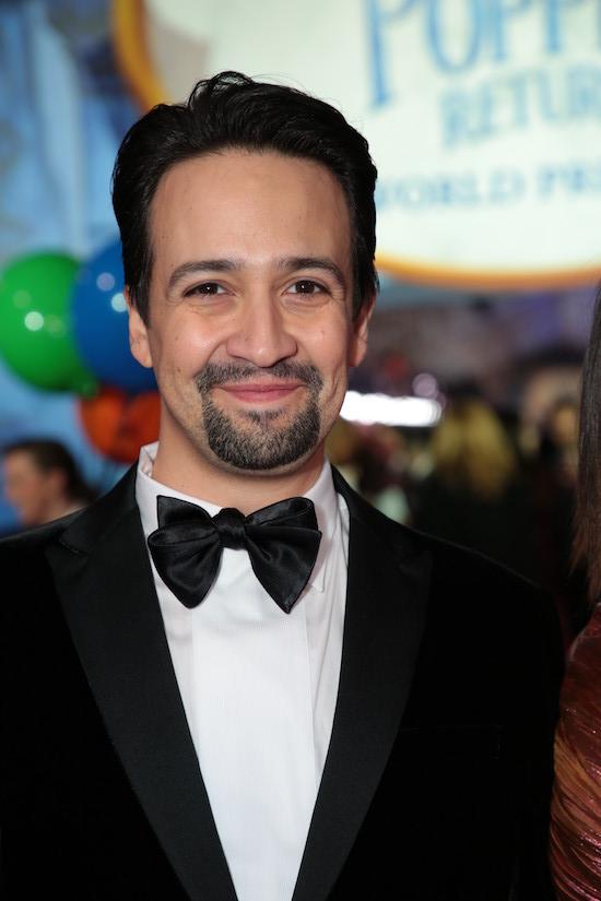 Lin-Manuel Miranda Mary Poppins Returns Premiere