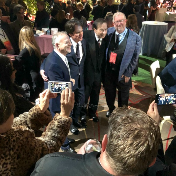 Marc Shaiman Rob Marshall Richard Sherman Mary Poppins Returns Premiere