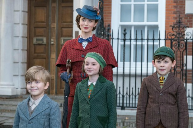 Mary Poppins Returns Banks Children