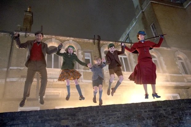 Mary Poppins Returns Trip a Little Light