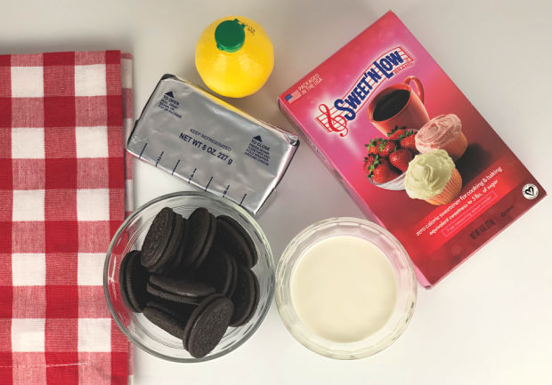 Mini Cheesecake Ingredients