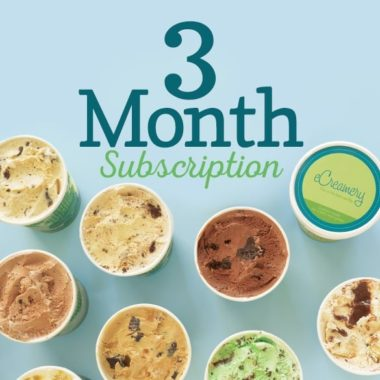 eCreamery Flavor of the Month Subscriptions