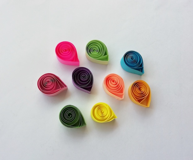 Quilled Paper Shapes