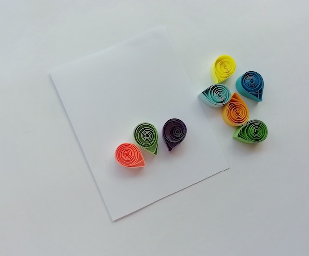 Balloons Paper Quilling
