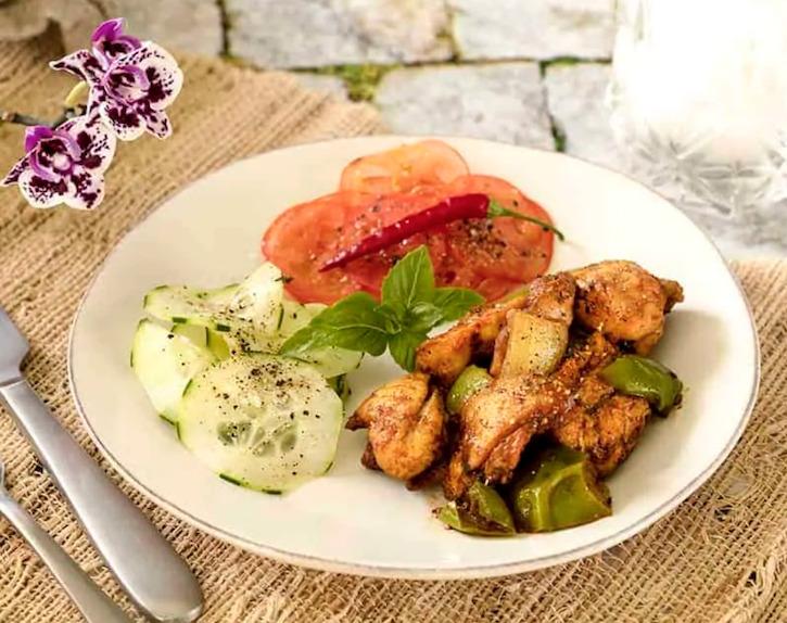 Air Fryer Chicken Jalfrezi