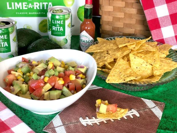 Avocado Corn Salsa Recipe Game Day
