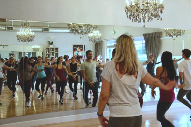 Chrysa Duran Nutcracker Dance Lesson