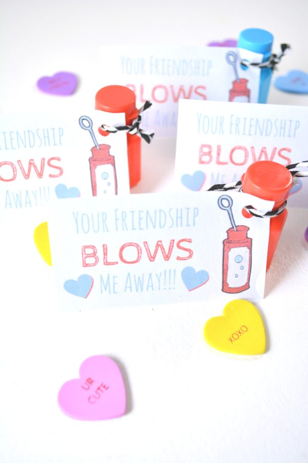 photo relating to You Blow Me Away Valentine Printable titled Bubbles Clroom Valentines \