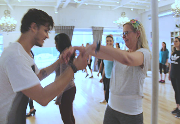 Gleb Savchenko Dance Lesson Chrysa Duran