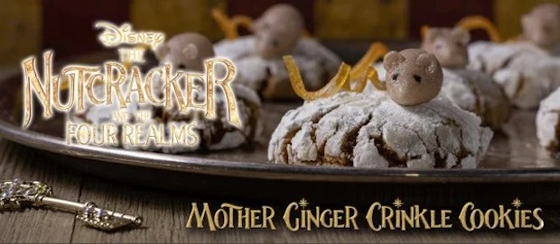 Mother Ginger Crinkle Cookies