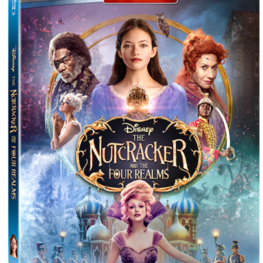 Nutcracker Four Realms BluRay Box