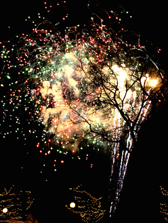 Saint Paul Winter Carnival Fireworks