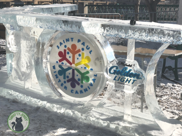 Saint Paul Winter Carnival Ice Sculpture