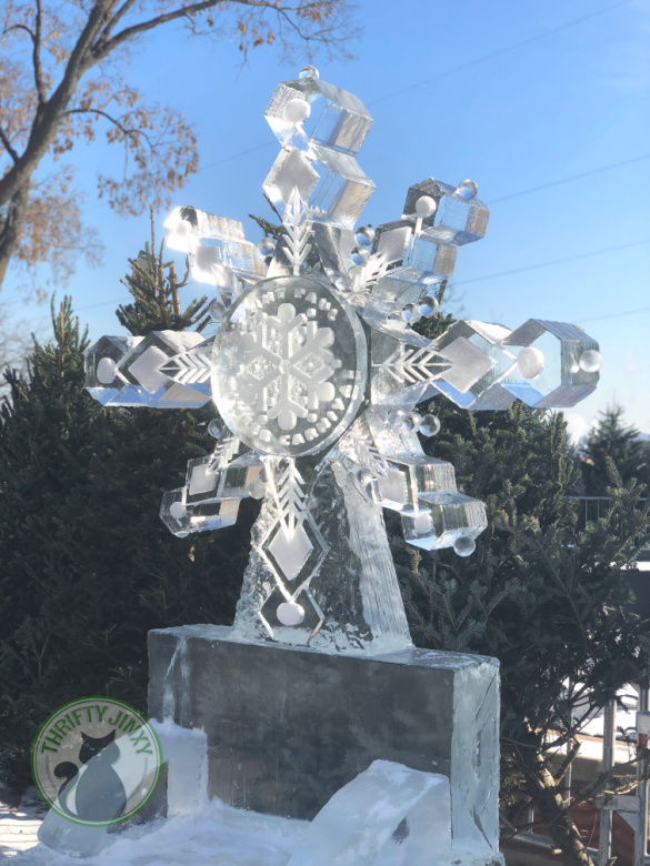 St Paul Winter Carnival Ice Sculpture