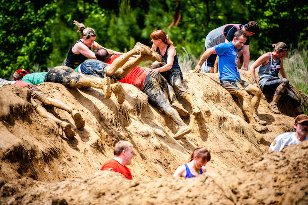 Warrior Dash Obstacle
