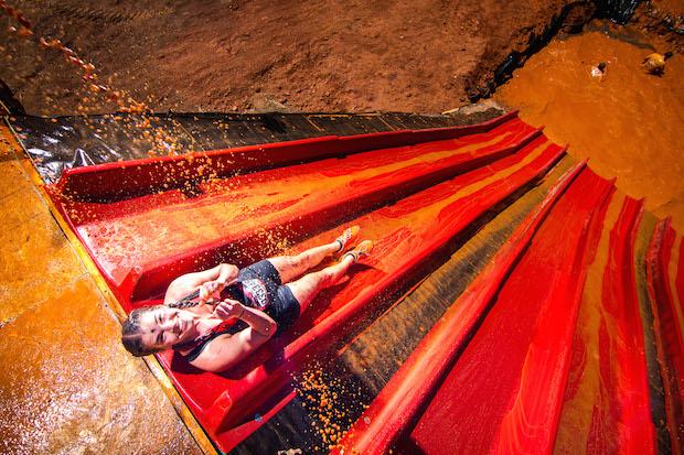 Warrior Dash Slide