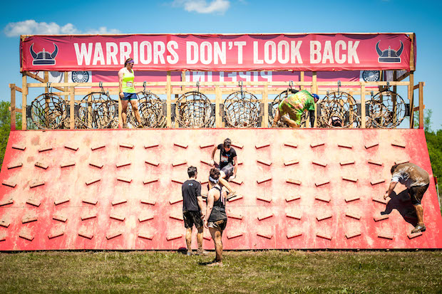 Warrior Dash obstacles