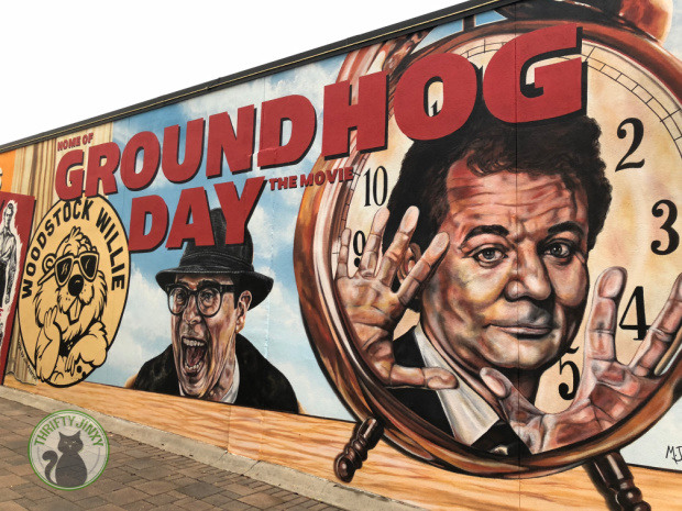 Woodstock Groundhog Mural