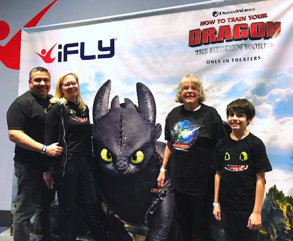 ifly How to Train Your Dragon Virtual Reality Experience