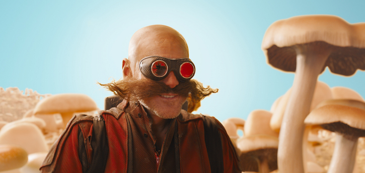 Jim Carrey Dr. Robotnik SONIC THE HEDGEHOG