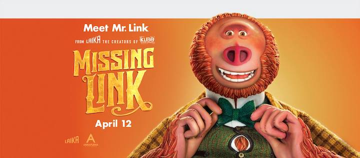 Mr Link in Missing Link