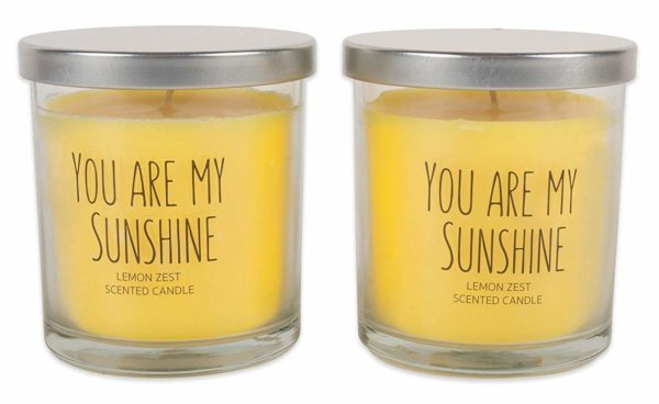 You Are My Sunshine Lemon Zest Candle