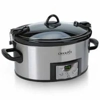 Crock-Pot 6-Quart Cook & Carry Programmable Slow Cooker