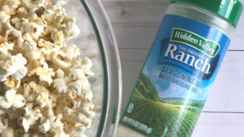 Ranch Seasoned Popcorn