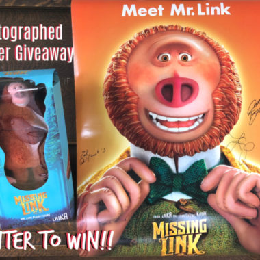 Missing Link Autographed Poster