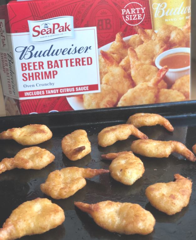 SeaPak Budweiser Beer Battered Shrimp