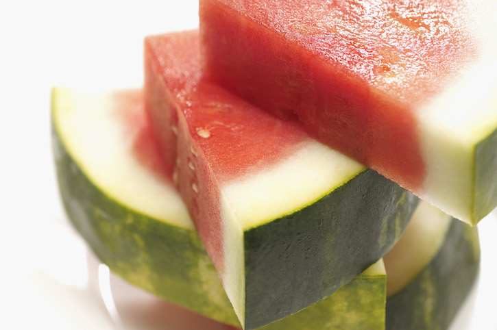 Sliced watermelon, close-up