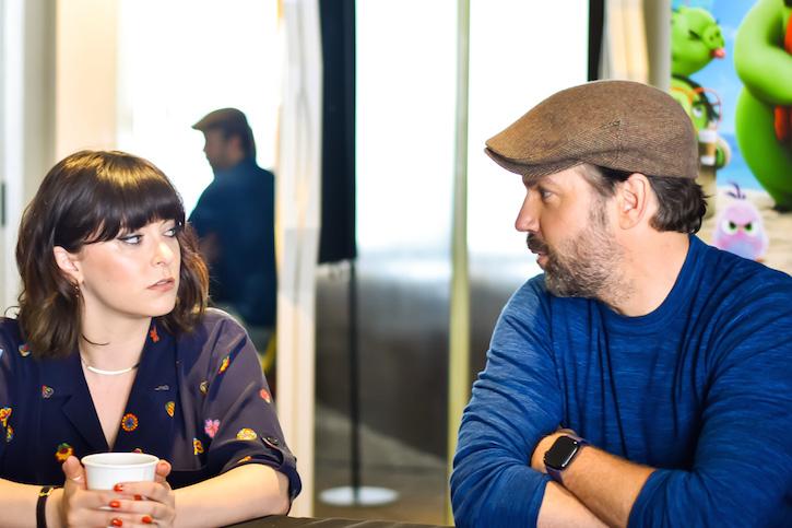 angry birds 2 Rachel Bloom and Jason Sudeikis