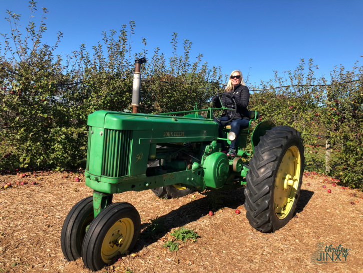 Royal Oak Farm Orchard Tractor