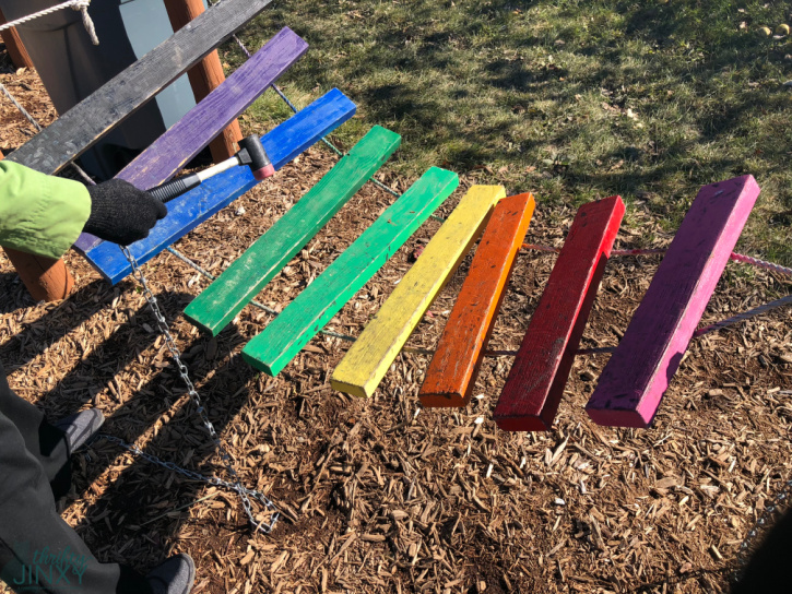 Royal Oak Farm Orchard Xylophone