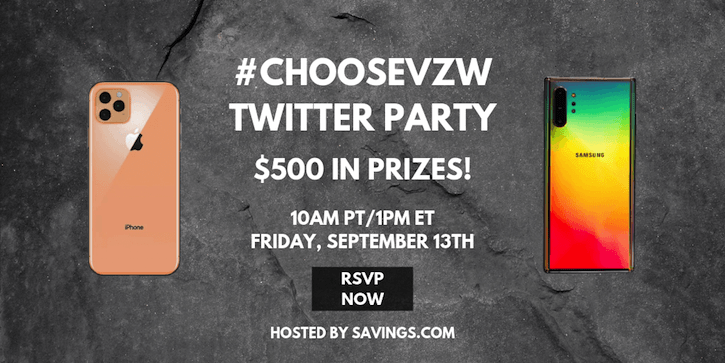 verizon wireless twitter party