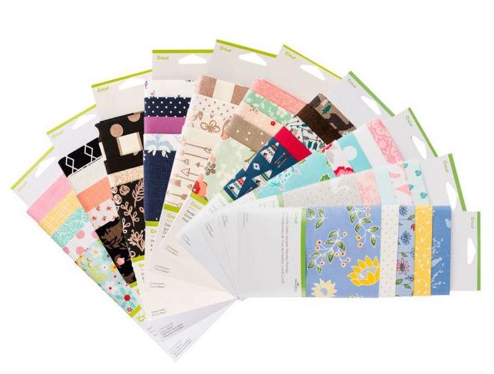 Cricut Designer Fabric Bulk Bundle