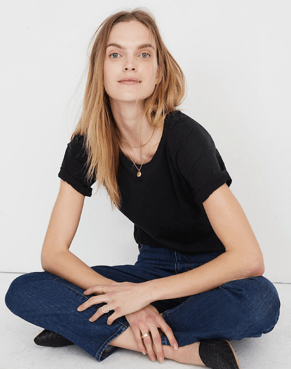 Madewell Whisper Cotton Tee