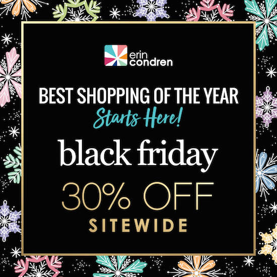 Erin Condren Black Friday 2019