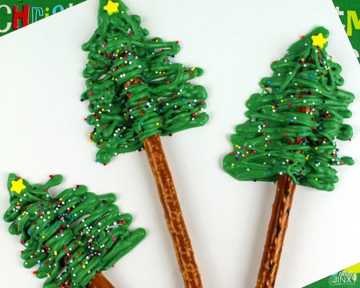 Christmas Tree Pretzels Recipe